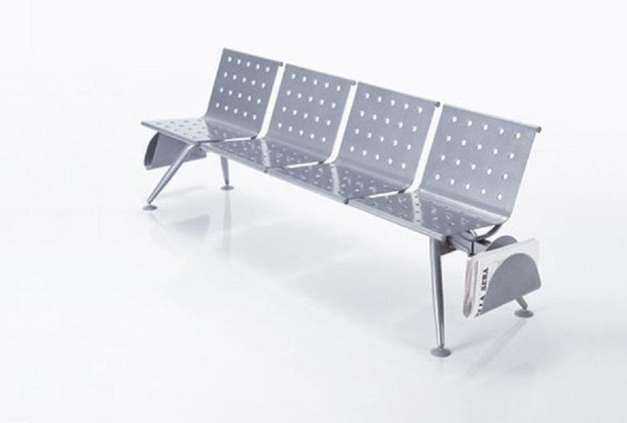 Ulisse sistema su trave di sedute per l'attesa - riganelli