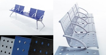 Sistema modulare di sedute sala d'attesa collettività - Riganelli Ufficio