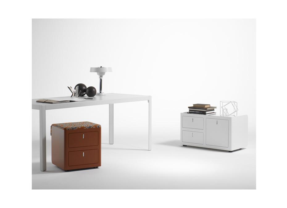 Contenitore cbox 2 cassetti e classificatore per ufficio - Riganelli Arredamenti