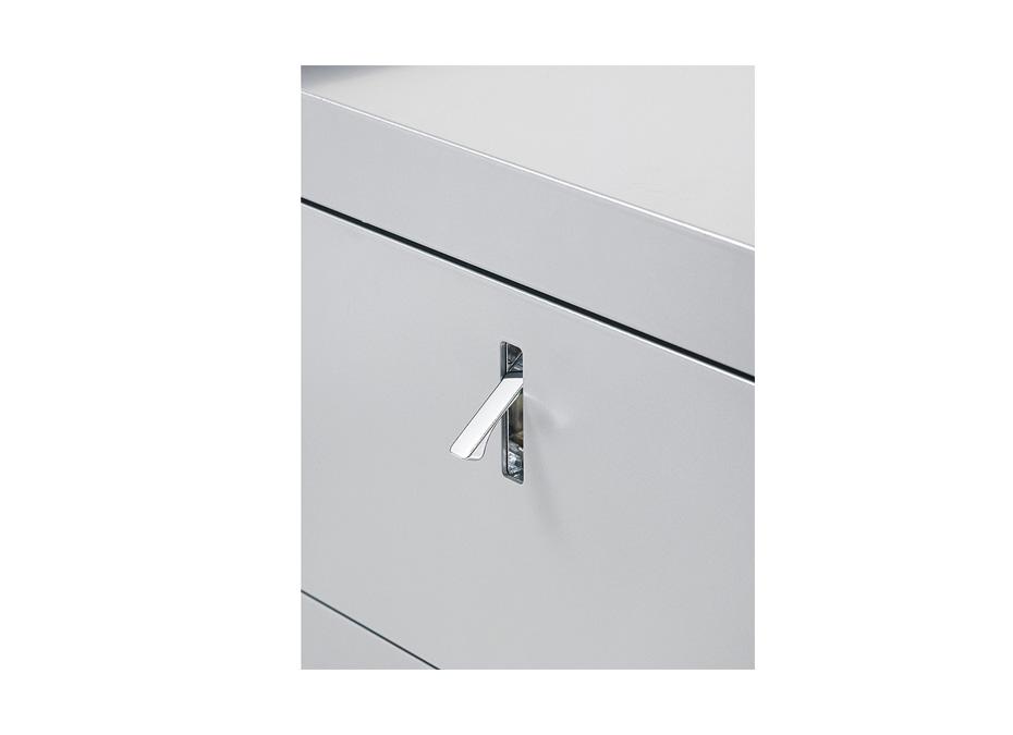 Dettaglio chiusura cassetto cbox - Riganelli Ufficio
