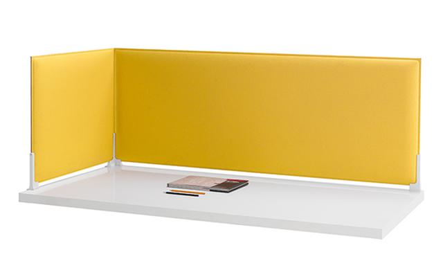Corner pannello acustico fonoassorbente divisorio scrivania design - Riganelli Arredamenti