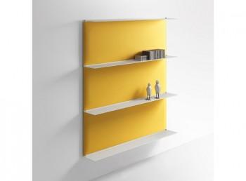 Pannelli acustici fonoassorbenti design colorati blade - Riganelli Uffici
