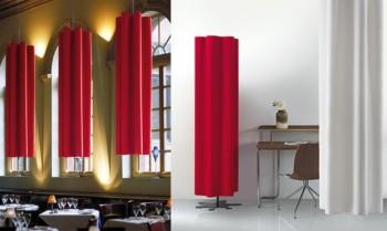 Pannelli acustici fonoassorbenti in fibra Snowsound diesis - Riganelli Arredamenti