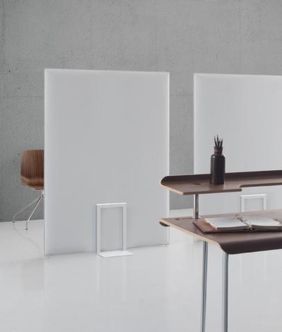Pannello fonoassorbente Pli oversize comfort acustico in ufficio - Riganelli Arredamenti
