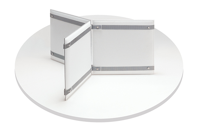 Pli desk frontal panel divisori scrivania pannelli acustici fonoassorbenti design - Riganelli Arredamenti