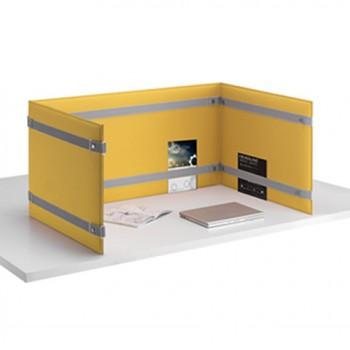 Pli desk pannelli fonoassorbenti frontal panel fonoassorbente per acustica in ufficio - Riganelli Arredamenti