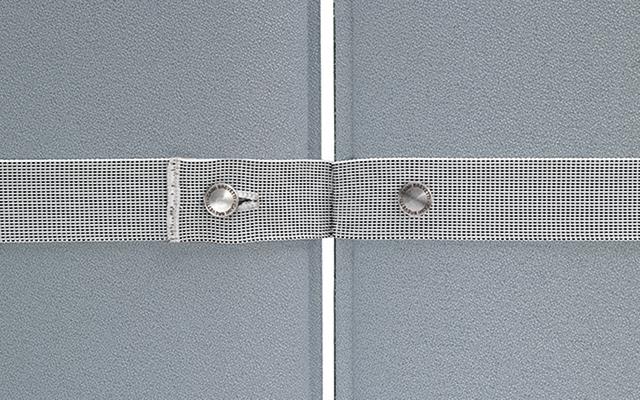 Pli oversize pannelli divisori componibili acustici fonoassorbenti - Riganelli Uffici