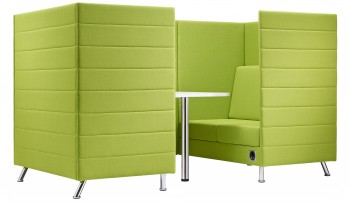 Atelier divanto tre posti lounge di design - Riganelli Arredamenti