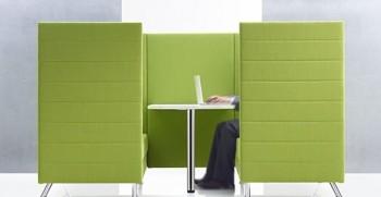 Atelier divanetto fonoassorbente 3 posti sala d'attesa lounge - Riganelli Arredamenti