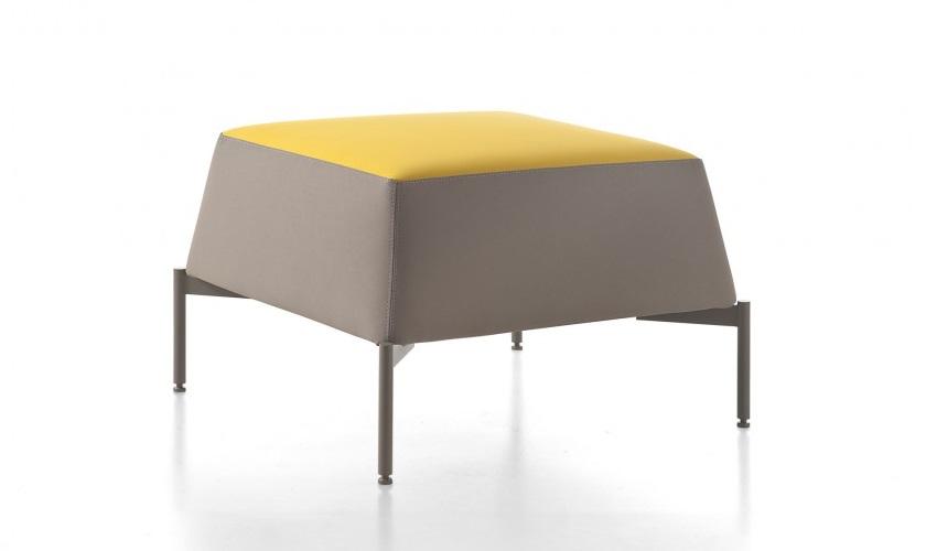 Pouf divanetto kendo sala attesa relax ufficio casa - Riganelli Arredamenti