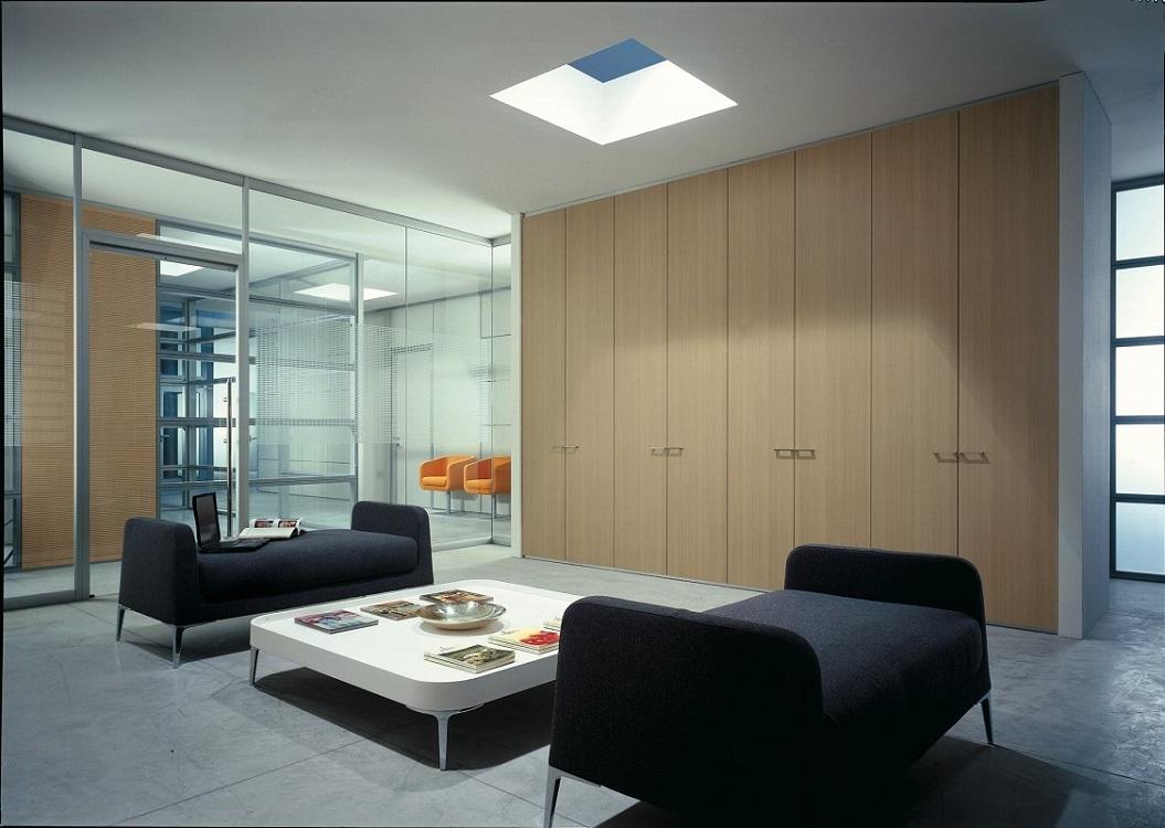Quadra-parete-divisoria-e-attrezzata-per-uffici-Riganelli-Arredamenti-1