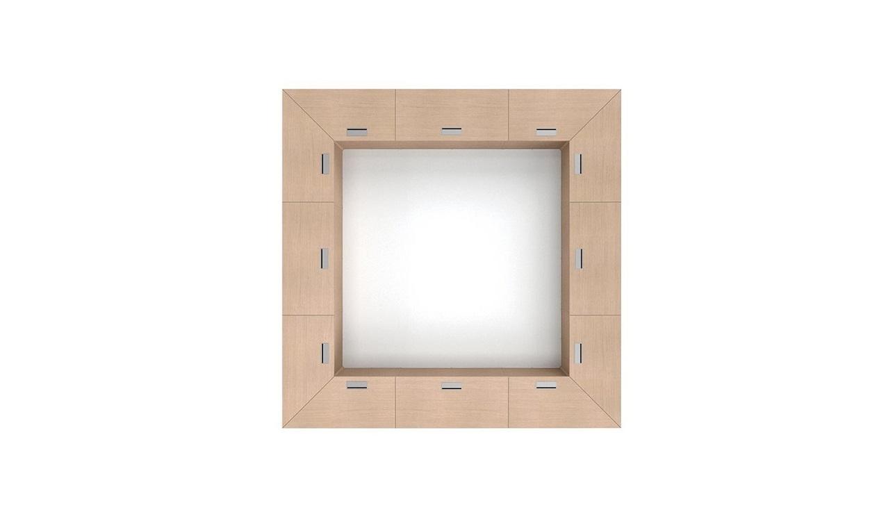 Dettaglio-tavolo-riunione-quadrato-Riganelli-Arredamenti