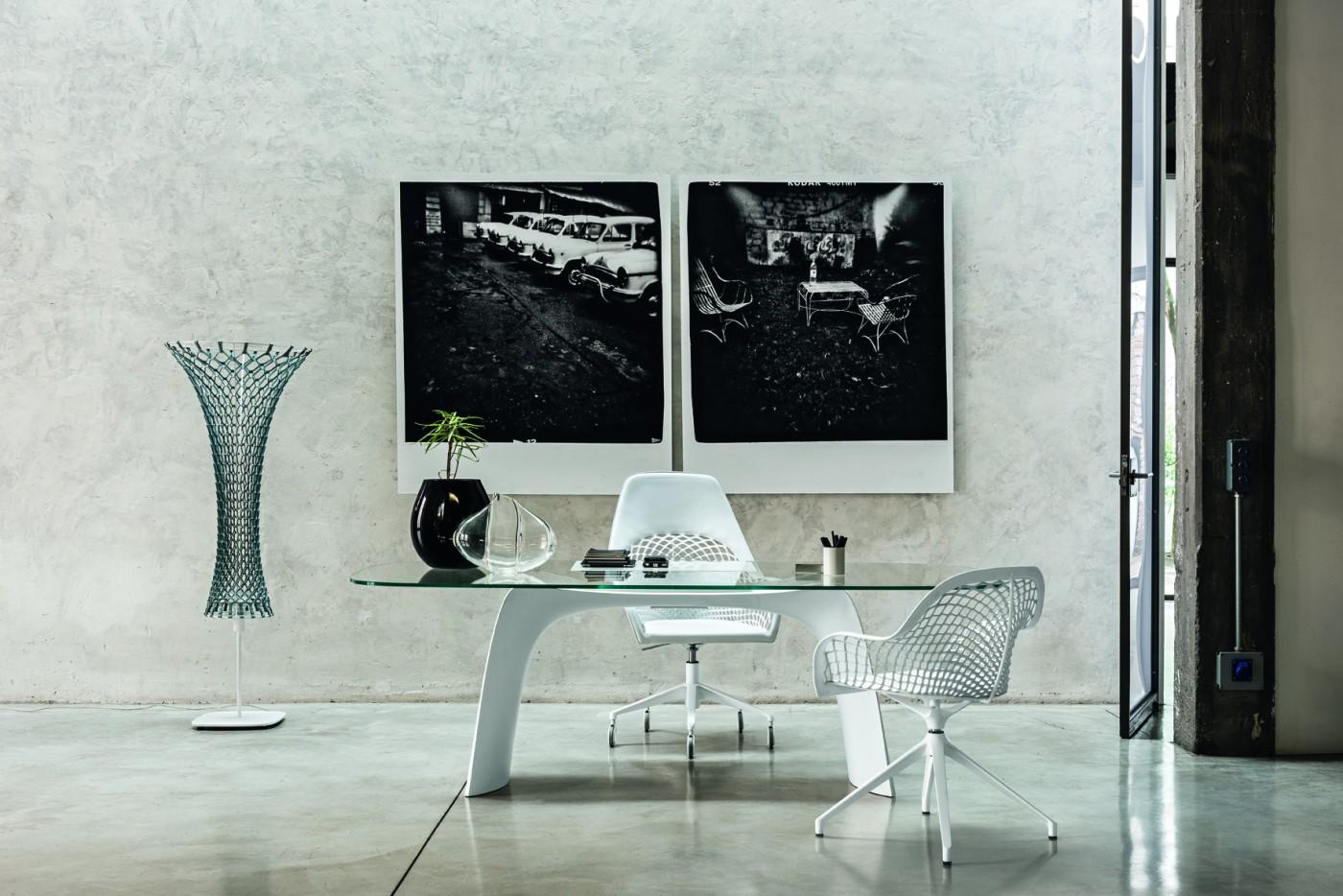 Moonlight tavolo scrivania di design - Riganelli Arredamenti