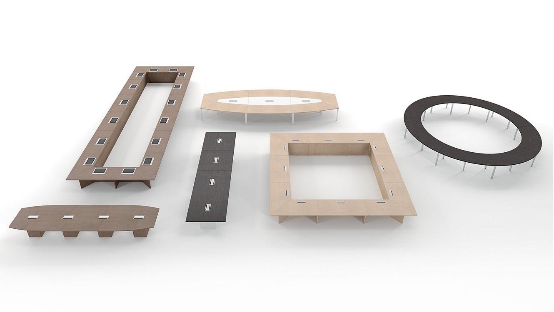 Tavoli-riunione-di-design-Riganelli-Arredamenti