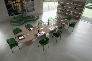 Tavolo-riunione-di-design-Riganelli-Uffici