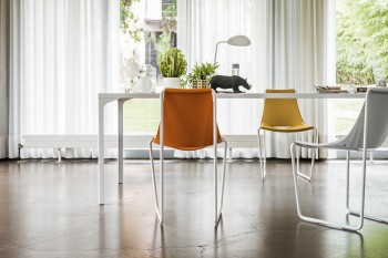 Armando tavolo semplice casa ufficio collettività - Riganelli Arredamenti