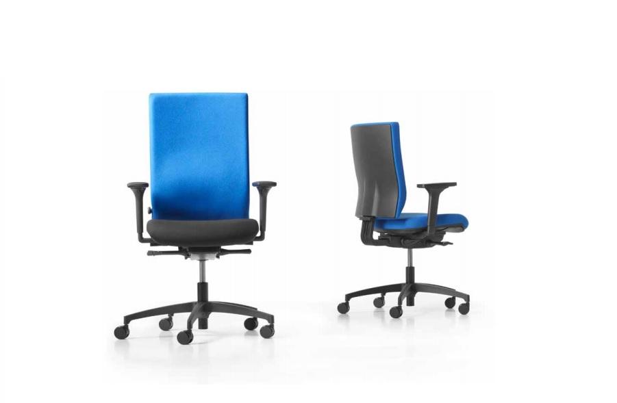 Seduta per ufficio operativo Just Magic S Operator colorata confortevole - Riganelli Arredamenti