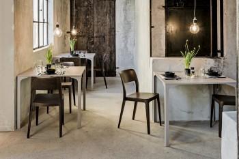 Tavolo Armando locali casa ufficio - Riganelli Arredamenti