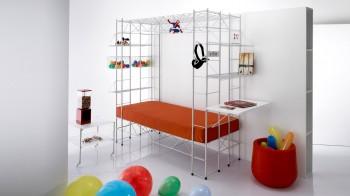 Abitacolo letto accessoriabile per ragazzi - Riganelli Arredamenti
