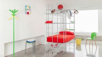 Cameretta con letto multifunzionale e accessoriabile - Riganelli Arredamenti