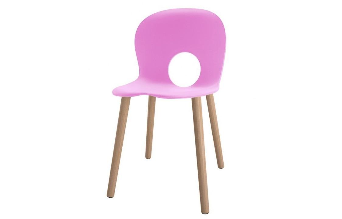 Olivia sedia Rosa Cliclamino - Riganelli Arredamenti
