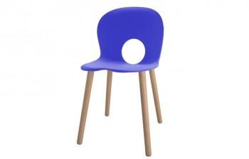 Olivia seduta colorata Blu Genziana - Riganelli Arredamenti