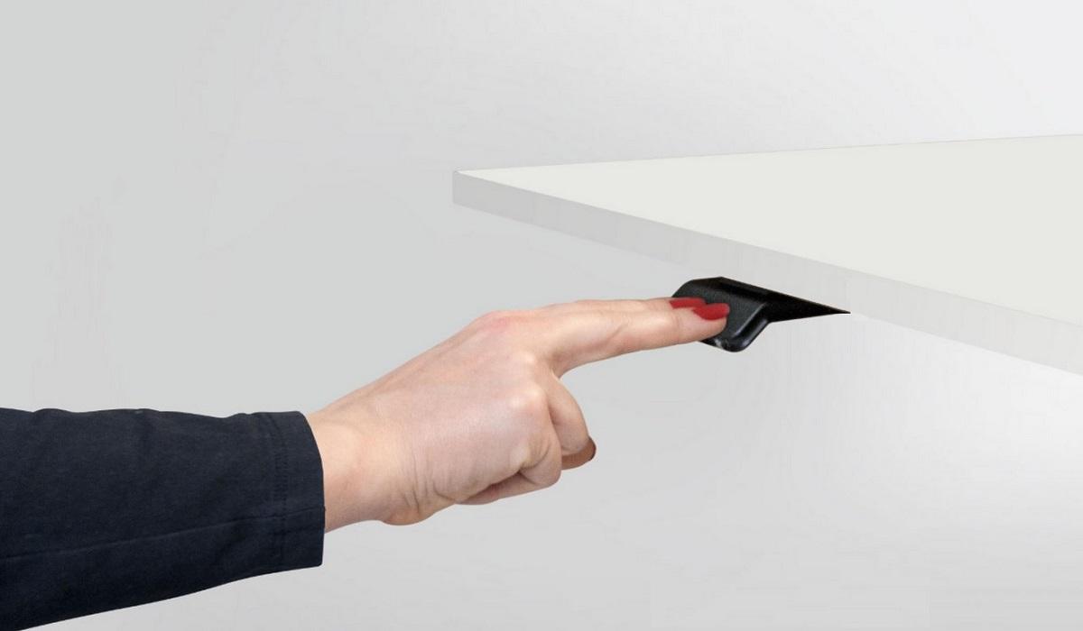 Pulsante per elevazione piano della scrivania sit stand ET - riganelli