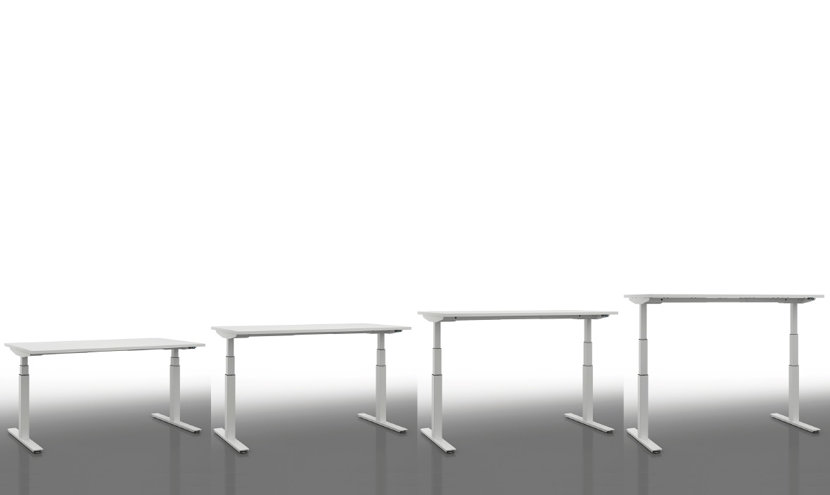 Sistemi elevabili in altezza per ufficio - Riganelli Arredamenti