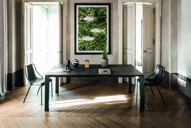 Badù tavolo allugabile per la casa arredamenti di design - Riganelli Arredamenti