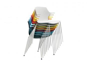 Frill Sedute colorate in polipropilene di design - Riganelli Arredamenti