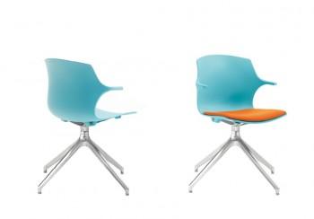 Frill sedia in polipropilene colorata devertente - Riganelli Arredamenti