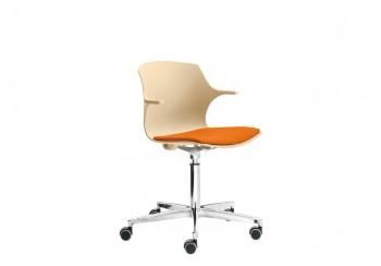 Frill sedia visitatori base girevole - Riganelli Arredamenti