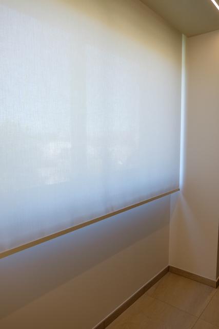 Realizzazione tende tecniche per sala riunione - Riganelli Arredamenti