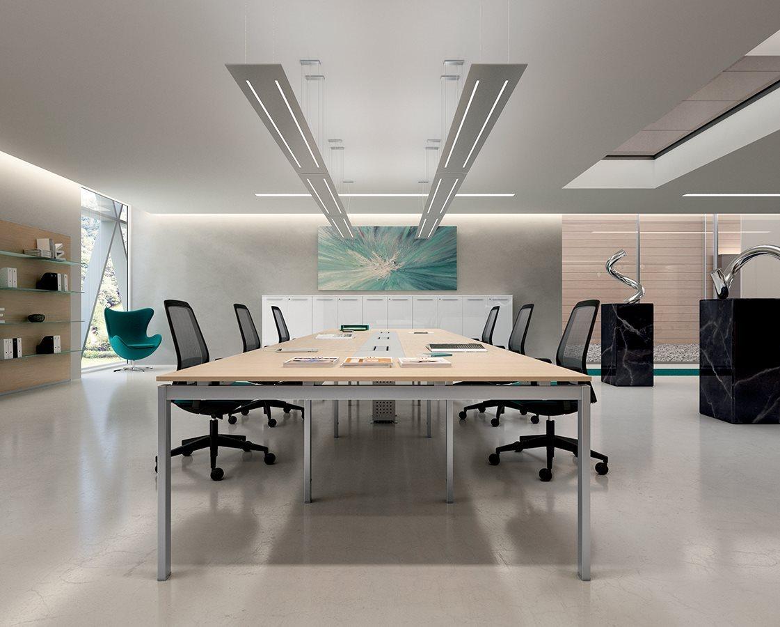 Tavolo Di Ufficio : Come abbinare tavolo riunioni e sedie riganelli
