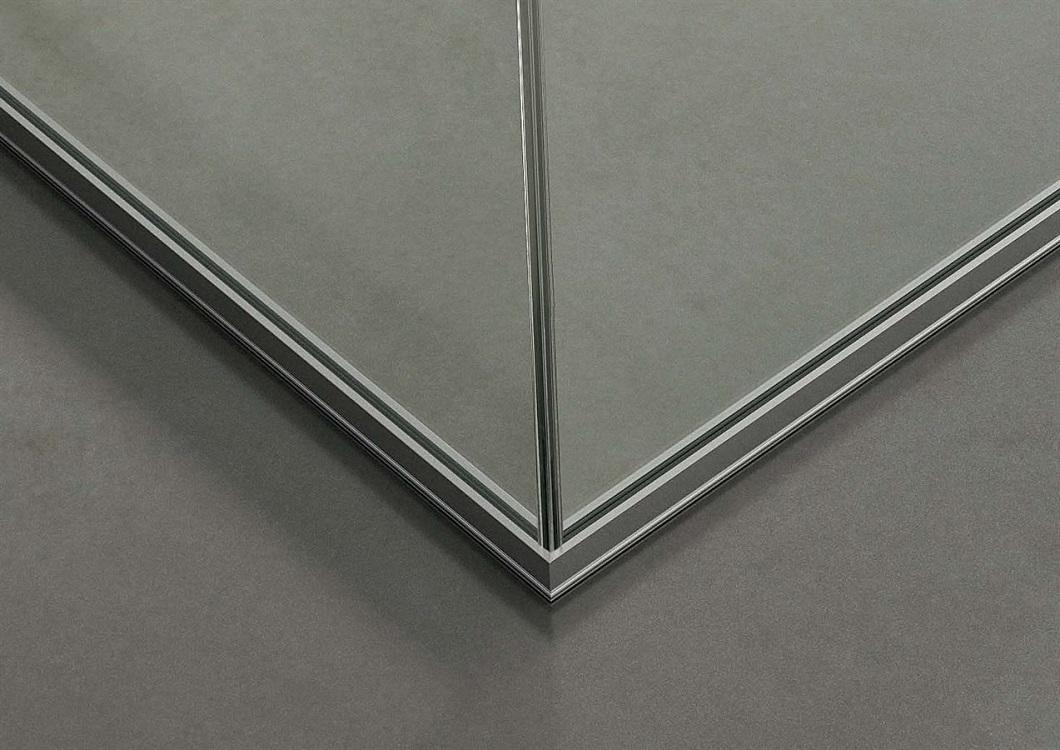 Dettaglio-angolo-parete-divisoria-in-vetro-Riganelli-Arredamenti