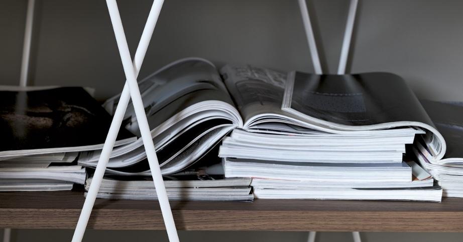 Dettaglio libreria matassa matassina di design - Riganelli Arredamenti