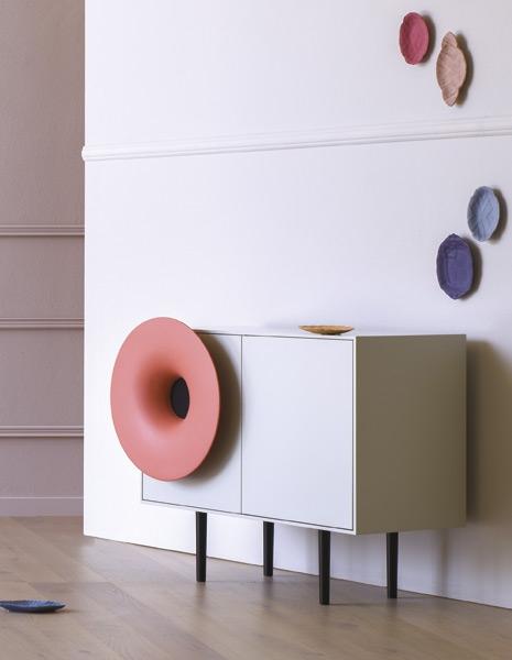 Madia Caruso colorata moderna - Riganelli Arredamenti