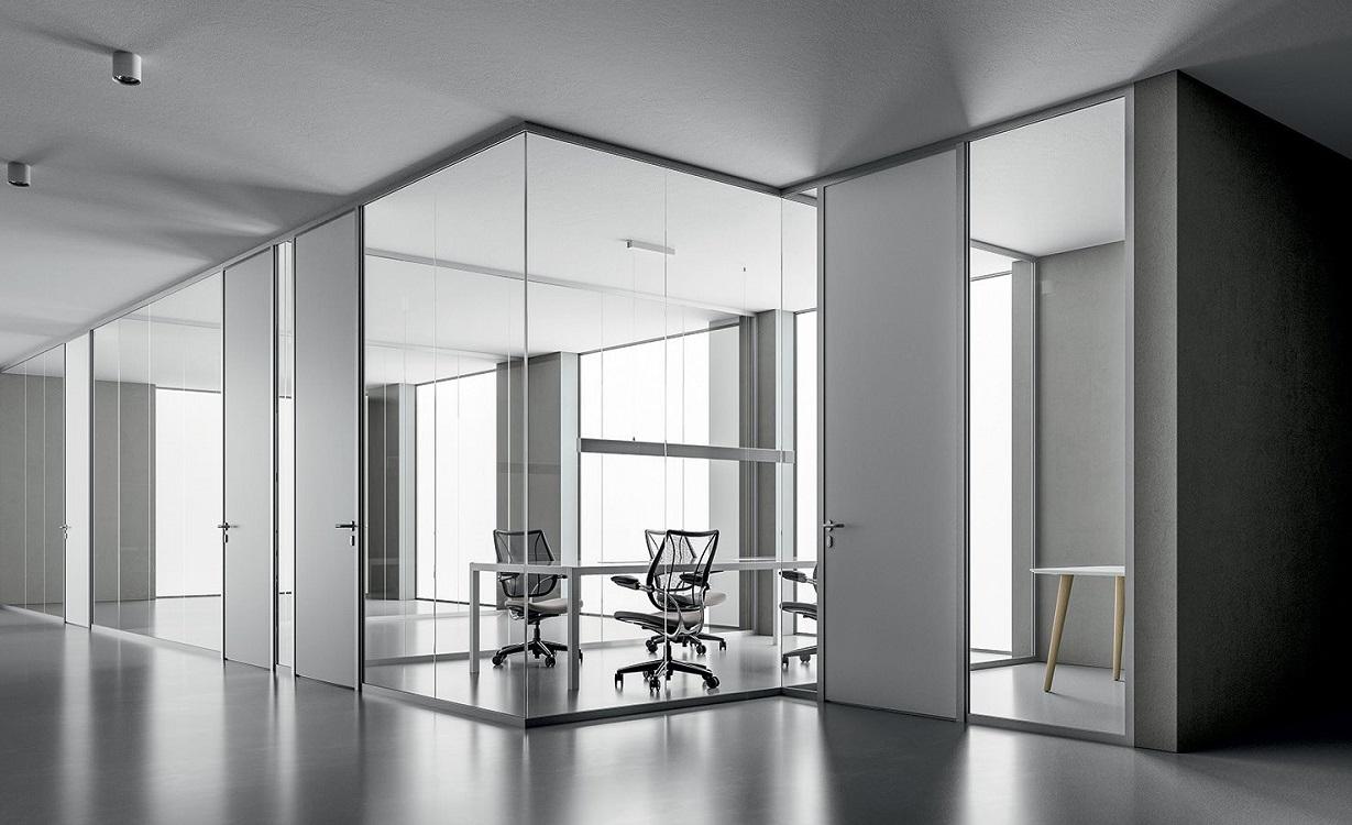 Monovetro-parete-divisoria-con-porte-riganelli