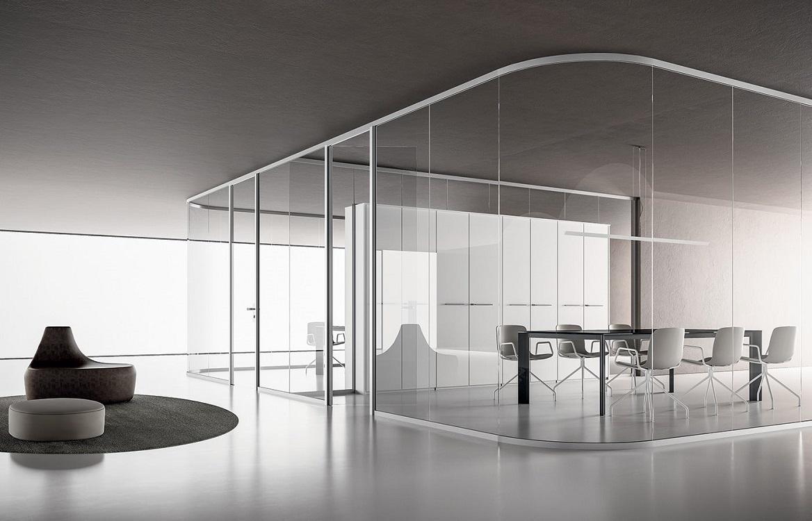Monovetro-parete-divisoria-in-vetro-arrotondata-riganelli