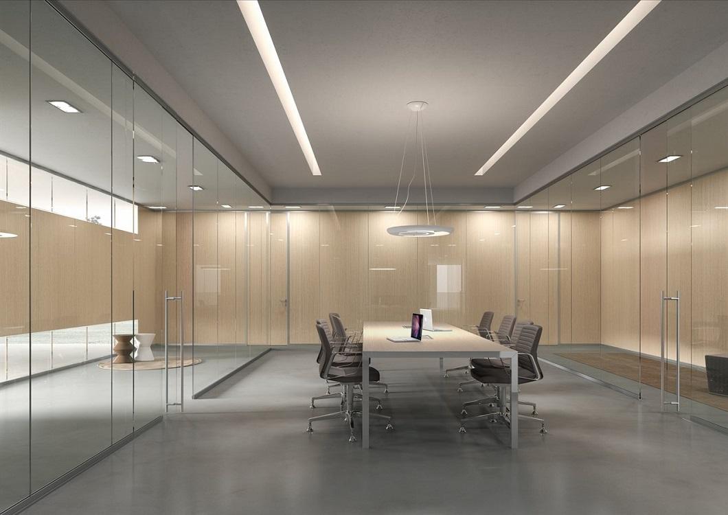 Monovetro-pareti-divisorie-per-uffici-Riganelli-Arredamenti