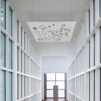 Snowsound art pannello fonoassorbente disegnato - Riganelli Arredamenti