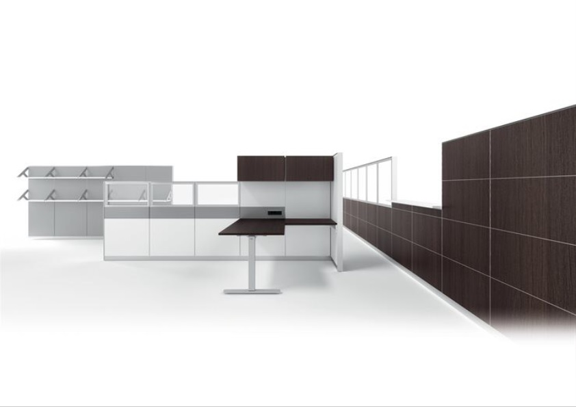 Dettagli uffici open space divisori - Riganelli Arredamenti