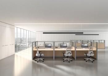 Open space moduli divisori e paretine per ufficio - Riganelli arredamenti