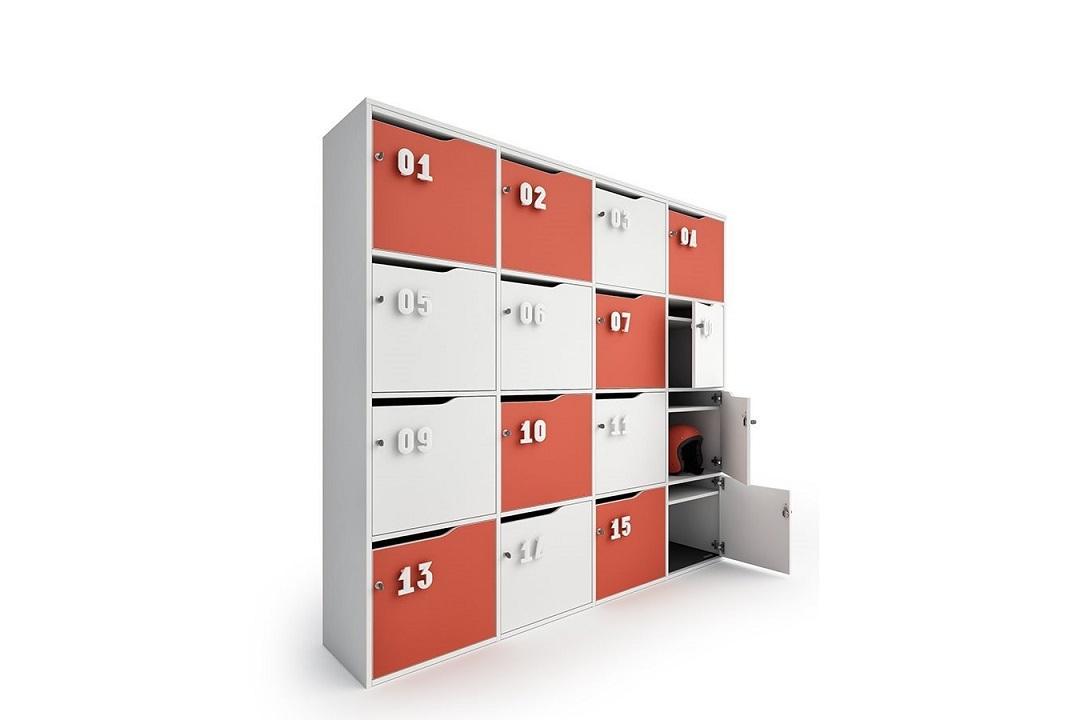 Lockers-archiviazione-armadietti-colorati-e-numerati-Riganelli-Arredamenti