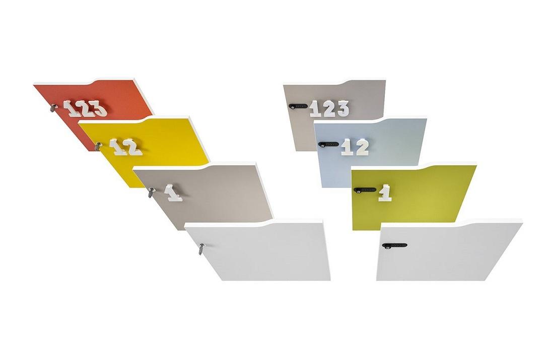 Lockers-armadietti-con-serratura-e-numeri-Riganelli-Arredamenti