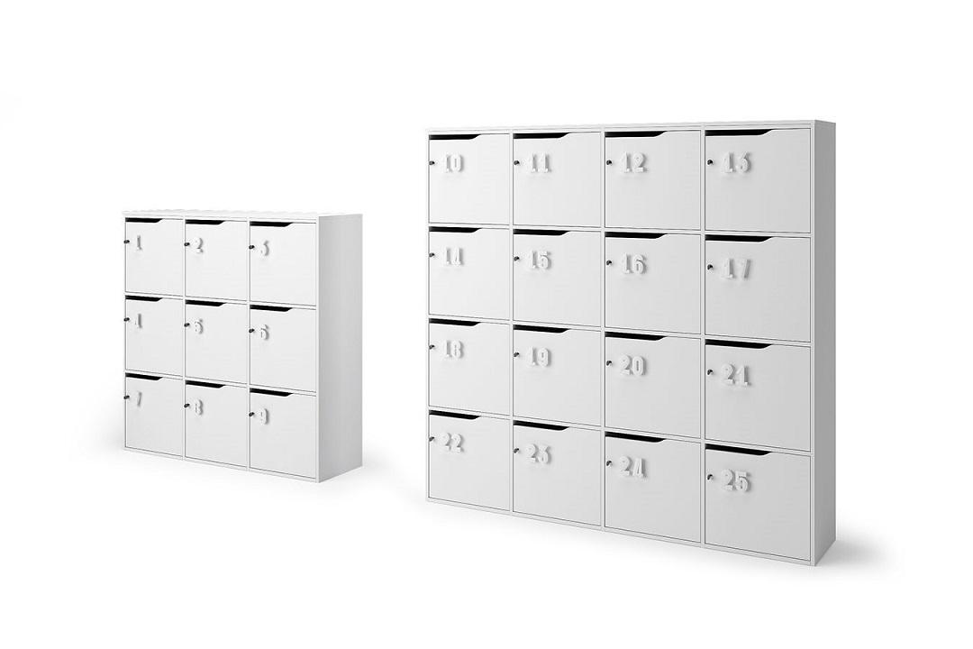 Lockers-armadietti-scuola-banca-effetti-personali-Riganelli-Uffici