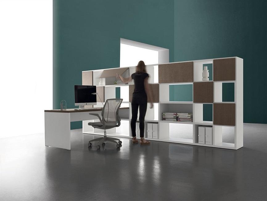 RIGA Libreria-componibile-centro-stanza-ufficio-casa-soggiorno-Riganelli-Arredamenti