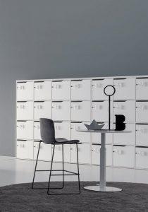 lockers bianchi armadietti con serratura - riganelli