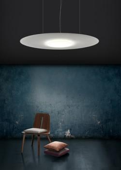Giotto lux pannello acustico lampadario ufficio ristorante locale pubblico - Riganelli Arredamenti