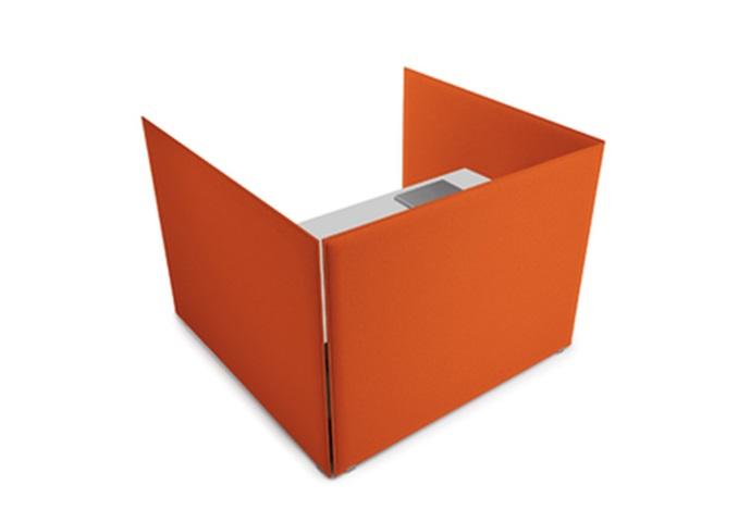 Oversize Desk pannello acustico per scrivania grande - Riganelli Arredamenti